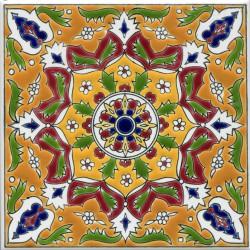 Восточные узоры на керамике