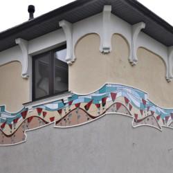 фриз из керамики
