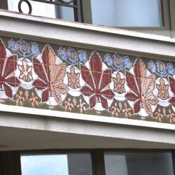 Каштановые листья в керамике