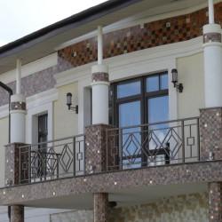 Оформление фасадов мозаикой