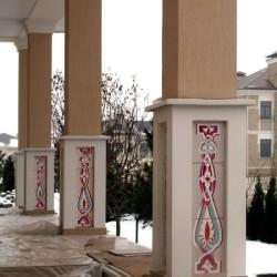 Керамические колонны