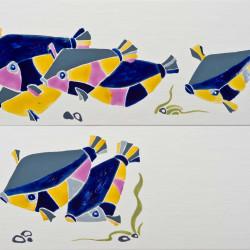 Рыбки в керамике