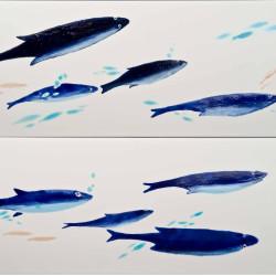 Рыбки плитка для ванной