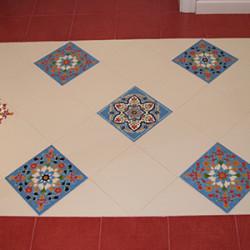 керамика на полу