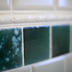 Изумрудная плитка для ванной