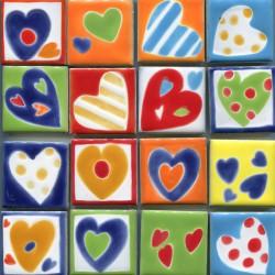 Керамические магниты сердечки